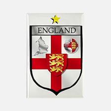 England Soccer Shield Rectangle Magnet