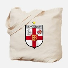 England Soccer Shield Tote Bag