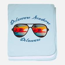 Delaware - Delaware Seashore State Pa baby blanket