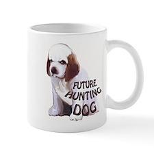 clumber spaniel hunting puppy Mug