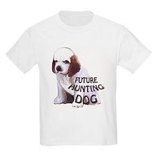 clumber spaniel hunting puppy T-Shirt