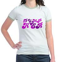 Dump Her Jr. Ringer T-Shirt