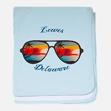 Delaware - Lewes baby blanket