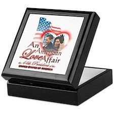 An American Love Affair - Keepsake Box