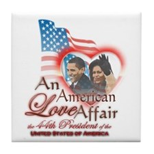 An American Love Affair - Tile Coaster