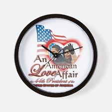 An American Love Affair - Wall Clock