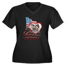 An American Love Affair - Women's Plus Size V-Neck