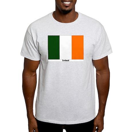 Ireland Flag Ash Grey T-Shirt