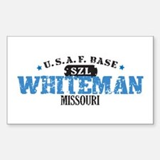 Whiteman Air Force Base Rectangle Sticker 10 pk)