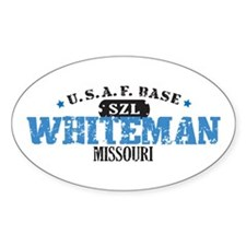Whiteman Air Force Base Oval Decal
