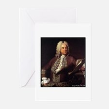"Faces""Handel"" Greeting Cards (Pk of 10)"