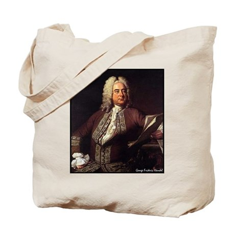 "Faces""Handel"" Tote Bag"