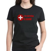 I'm Nursing A Semi Women's Dark T-Shirt