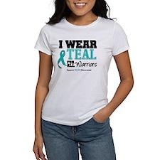 I Wear Teal Warriors Tee