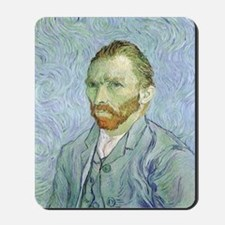 Van Gogh Self Portrait Mousepad