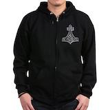 S-3 viking Zip Hoodie (dark)