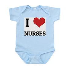 I Love Nurses Infant Creeper