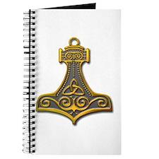 Thor's Hammer-gold Journal