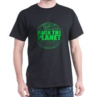 Hack The Planet Dark T-Shirt