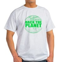 Hack The Planet Light T-Shirt