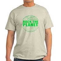 Hack The Planet Light T-Shirt