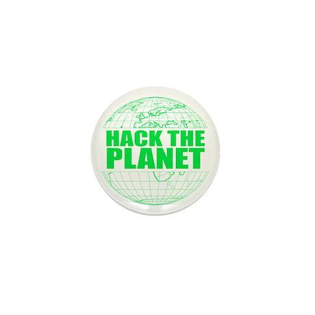 Hack The Planet Mini Button
