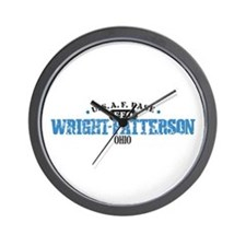 Wright Patterson Air Force Wall Clock