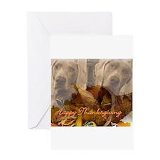 thanksgivingdogs Greeting Cards