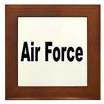 Air Force Framed Tile