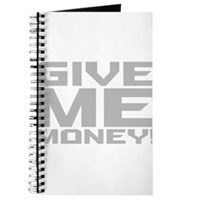 Give Me Money Journal