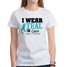 IWearTeal For The Cure Tee