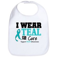 IWearTeal For The Cure Bib