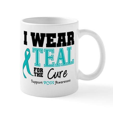 IWearTeal For The Cure Mug