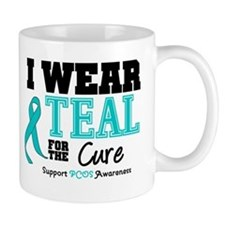 IWearTeal For The Cure Mug