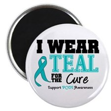 IWearTeal For The Cure Magnet