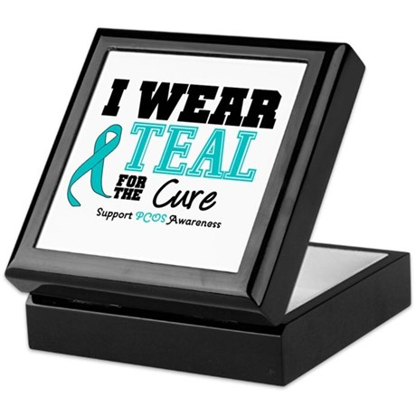 IWearTeal For The Cure Keepsake Box