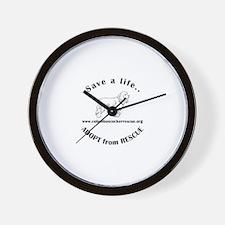 Cool Save a life adopt Wall Clock