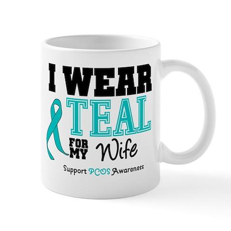 IWearTeal Wife Mug