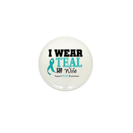 IWearTeal Wife Mini Button (10 pack)