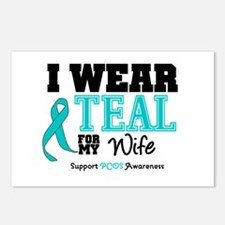 IWearTeal Wife Postcards (Package of 8)