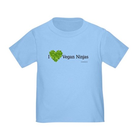 Vegan Ninja Toddler T-Shirt