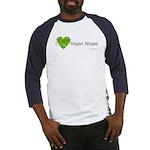 Vegan Ninja Baseball Jersey