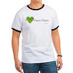 Vegan Ninja Ringer T