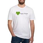 Vegan Ninja Fitted T-Shirt