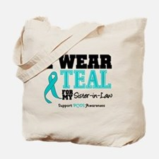 IWearTeal Sister-in-Law Tote Bag