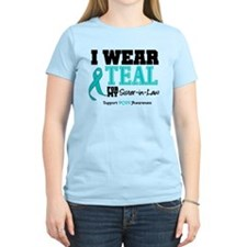 IWearTeal Sister-in-Law T-Shirt