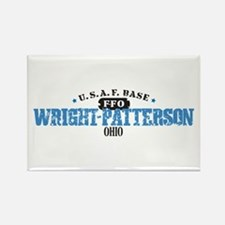 Wright Patterson Air Force Rectangle Magnet