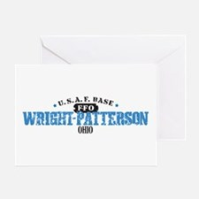 Wright Patterson Air Force Greeting Card