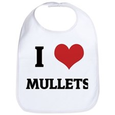 I Love Mullets Bib
