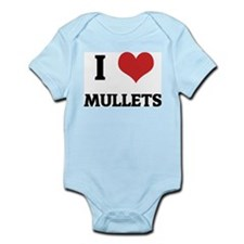 I Love Mullets Infant Creeper